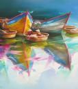 Boats-Original Asian Art