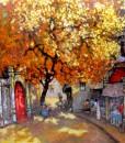 Noon in autumn -Original Vietnamese Art