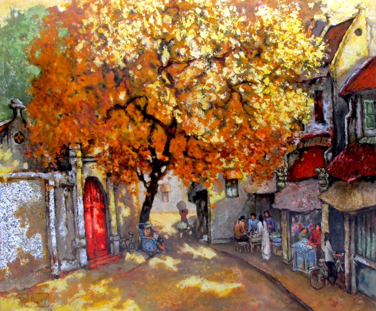 Noon in autumn -Original Vietnamese Art