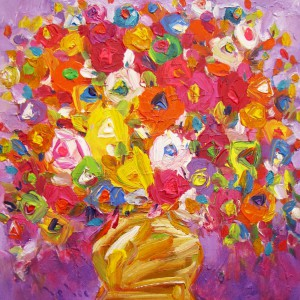 Still-life-with-vase-of-flowers-04-Original-Vietnamese-Art