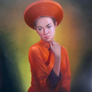 Young Lady-80x100