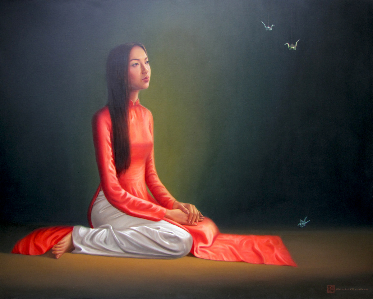 Young Lady 01 -Original Vietnamese Art