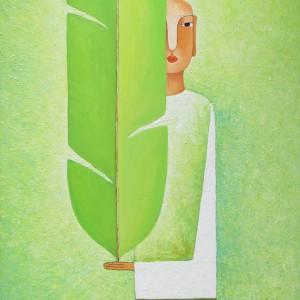 boy with banana leaf 70 x 80-1200