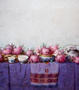 Still life with Dragon fruits-Original Vietnamese Art