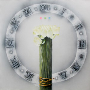 White Lotus-Original Vietnamese Art
