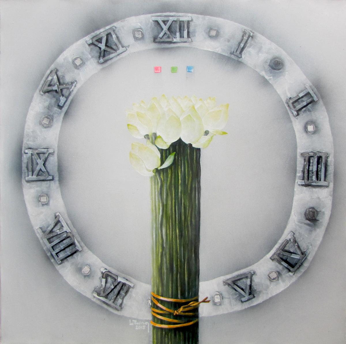 White Lotus-Original Vietnamese Art