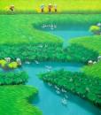 Lotus on the rice field 3-78x78