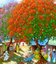 In Spring - Original Vietnamese Art