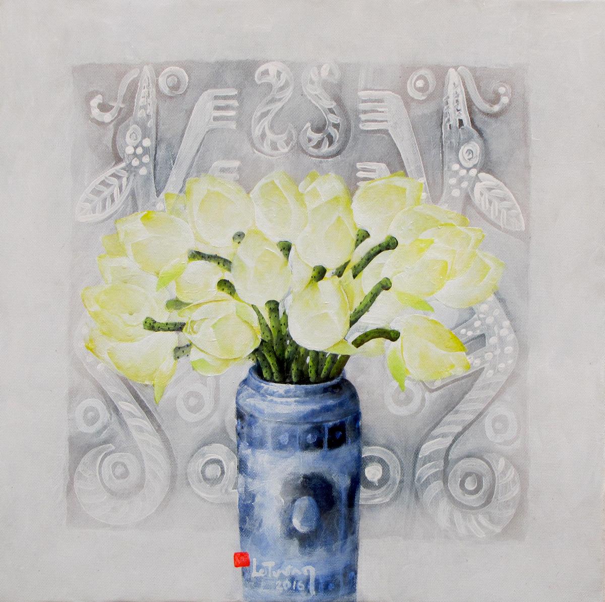White Lotus 01 - Vietnamese Painitngs