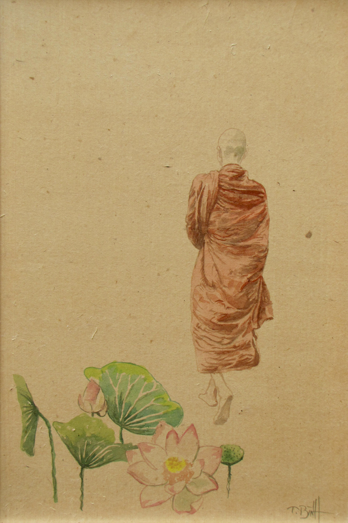 Pilgrim 06 - Vietnamese Paintings