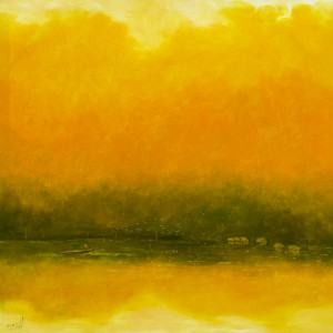 Yellow Autumn - Vietnamese Art