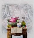 Vietnamese Art-Still-Life 04, an Oil Painting on Canvas