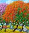 contemporary scenery painting|Vietnam Artist