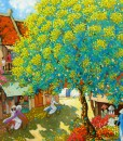 contemporary Asian oil paintings Vietnam Artist