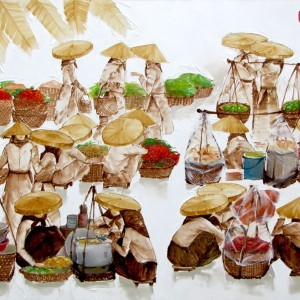 Asian figurative art|Vietnam Artist