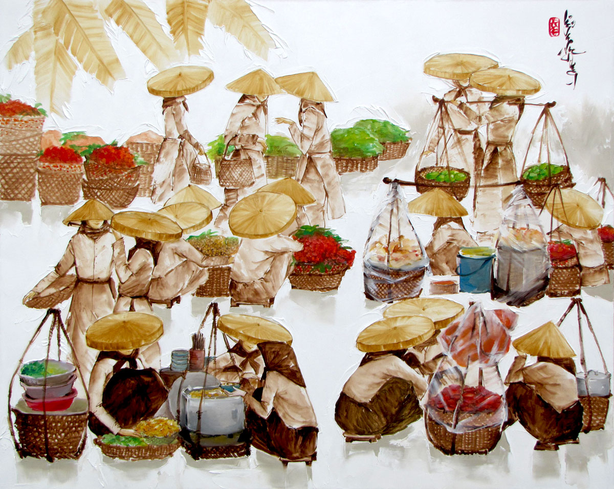 luong-dung-early-morning-market-01-80x100cm