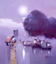Asian landscape painting|Vietnam Artist