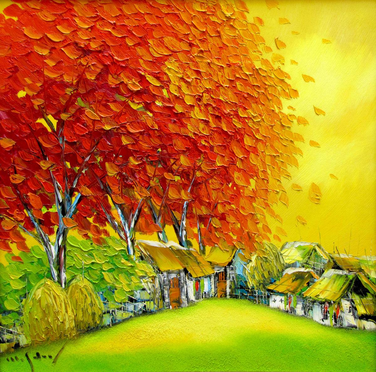 townscape painting|Vietnam Artist