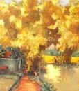contemporary scenery painting Vietnam Artist