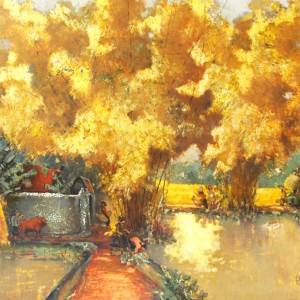 contemporary scenery painting|Vietnam Artist
