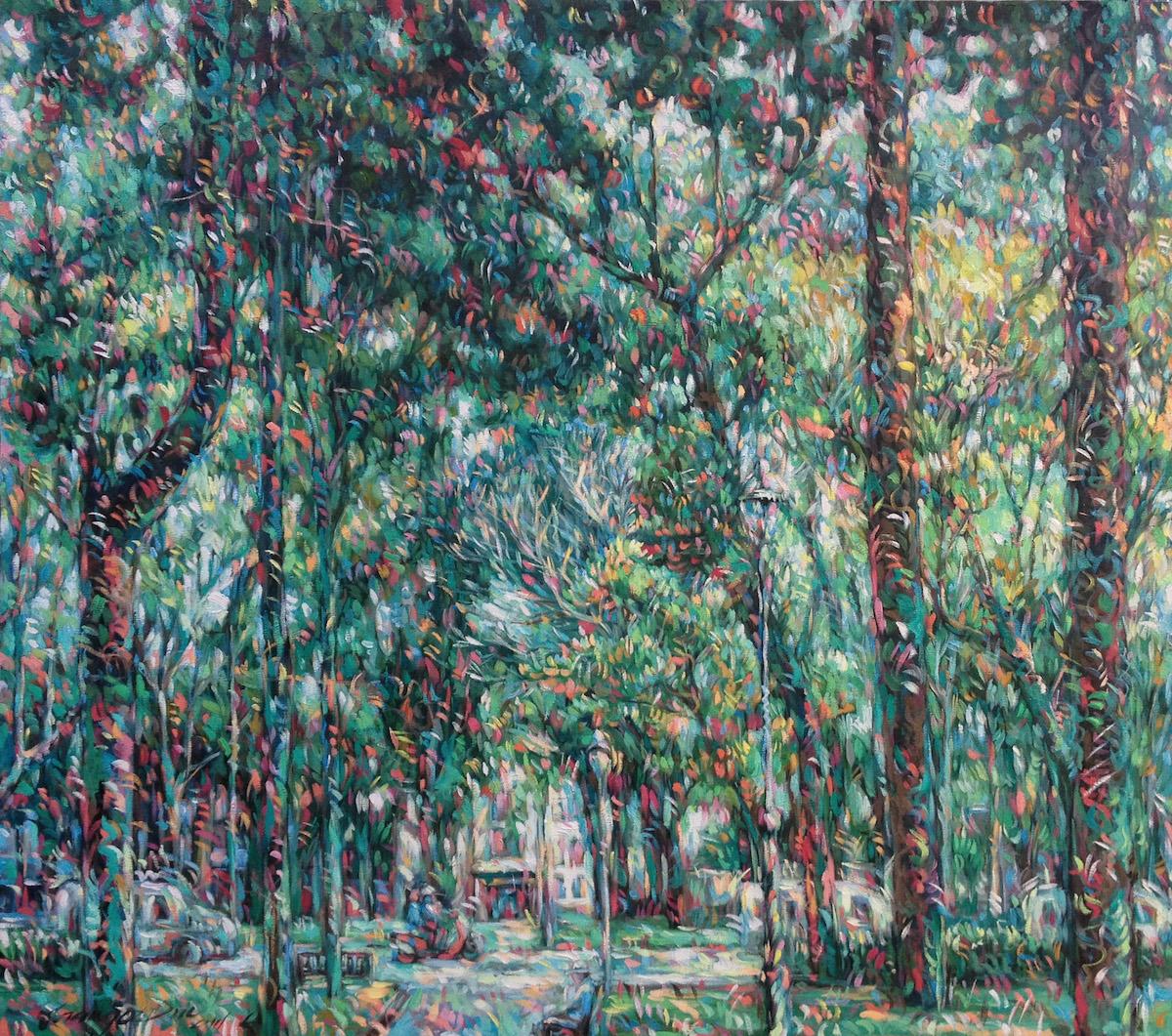park-in-city-160x140cm-oil-on-canvas