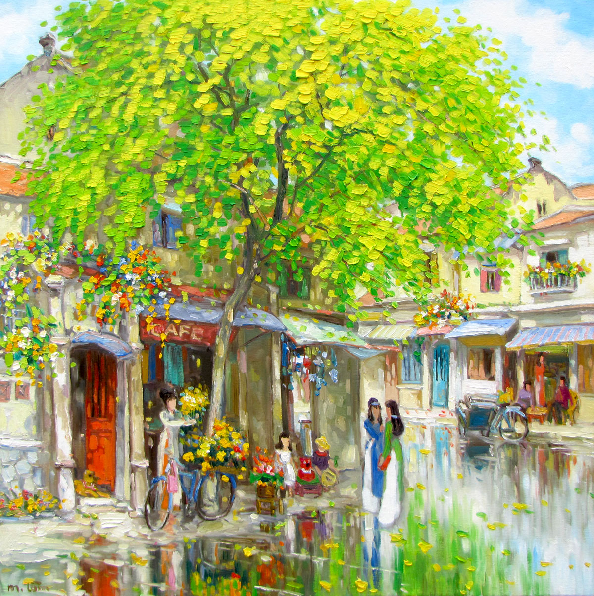 lam-manh-streetscene-after-the-rain-03-90x90cm