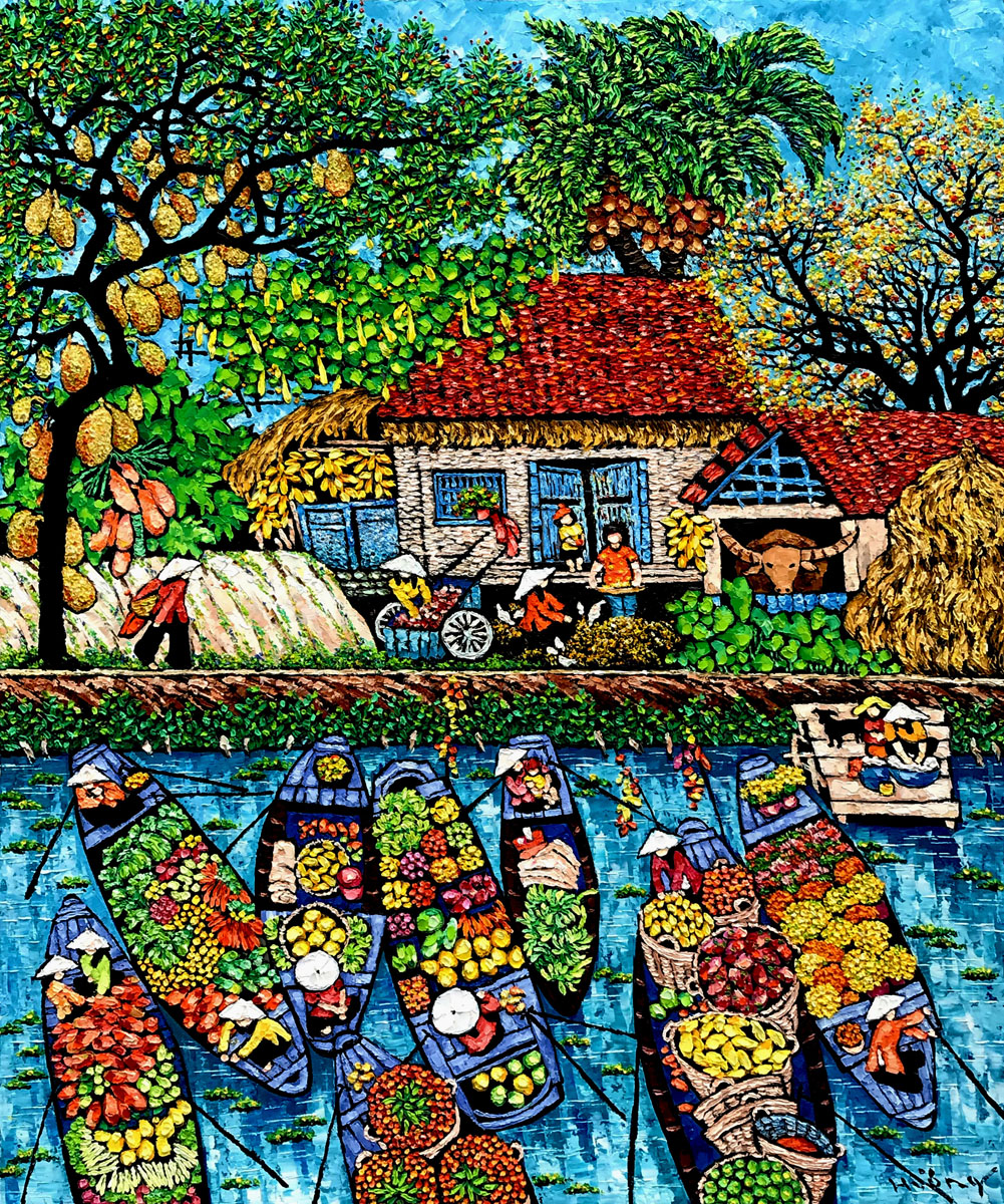 By the river 04-100x120