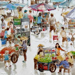 Street vendor 09-56x71