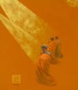 Praying 04-70x90cm