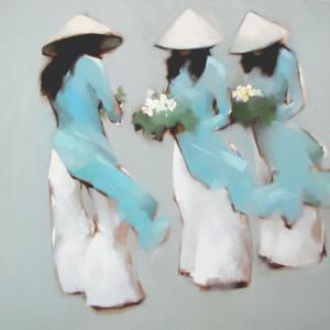 Blue flowers 01