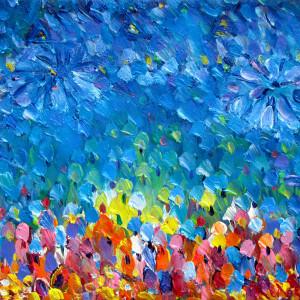 Flower market 09-60x60