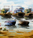 Fishing boats-120x140