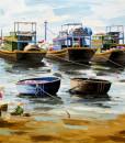 Fishing boats-120x140