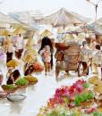 Street market-60x100