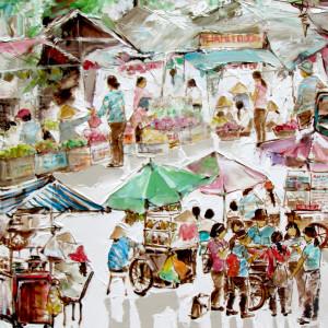 Street vendor 05-56x71
