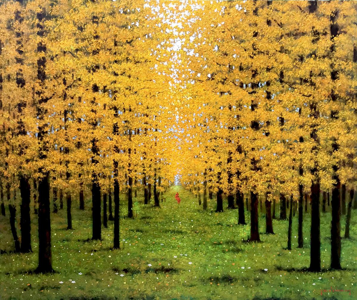 Autumn morning 01-100x120