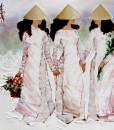 Ladies in pink-80x95cm