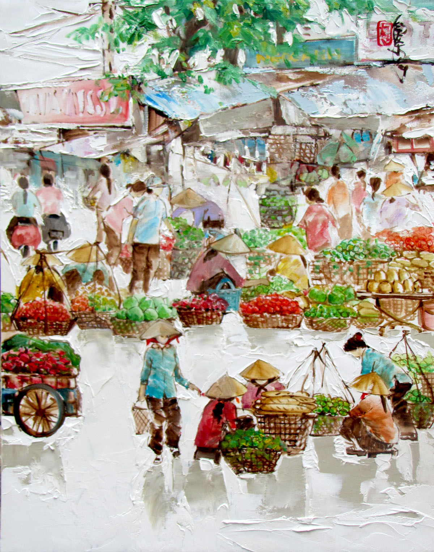 Street vendor 08-56x71