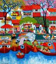 Tran Thu Huong-By the Hoai river-100x120