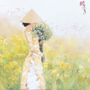 Autumn flower 80x95