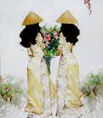 Ladies in yellow-65x80
