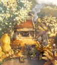 Noon in Village 01-100x140-ND