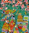 Floating market.01-100x130