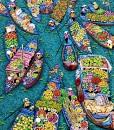 Flower market 05-100x120