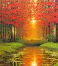 Red summer -100x150