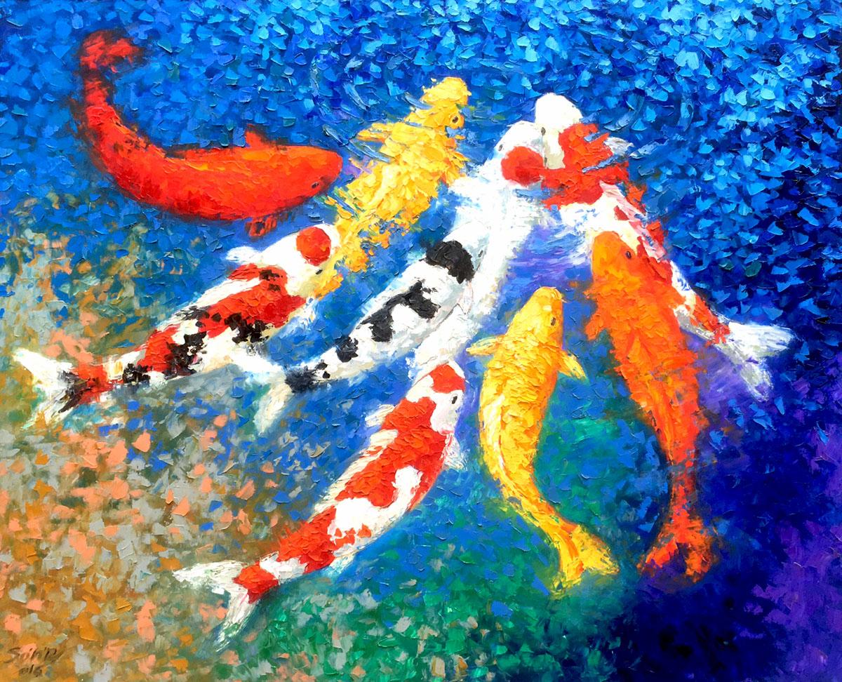 Lucky Koi fish 05-DNS