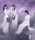 Schoolgirls 02-70x90