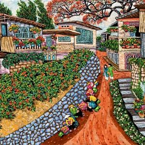 Flowers garden in Dalat-100x130