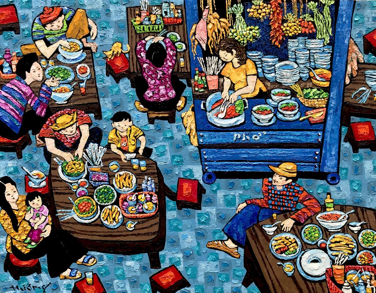 Noodles shop-70x90