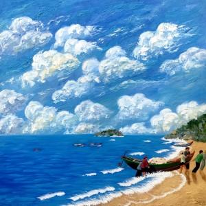 Sea view - 120x120